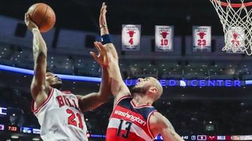 2016-11-13 NBA: Wyborna forma Gortata nie wystarczyła! Kolejna porażka Wizards