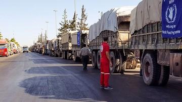 20-09-2016 15:16 Armie Rosji i Syrii zaprzeczają, jakoby zaatakowały konwój ONZ