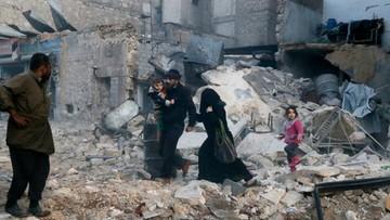 25-10-2016 09:20 Mieszkańcy nie odważyli się opuścić oblężonego Aleppo. ONZ obwinia rząd Syrii i rebeliantów