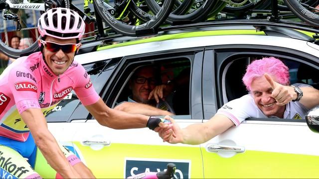 Alberto Contador zwycięzcą wyścigu kolarskiego Giro d'Italia