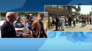 """2017-07-24 """"Państwa obecnością nie jestem zaskoczony"""". Szef MON do dziennikarzy"""