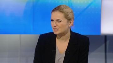 Barbara Nowacka w Polsat News