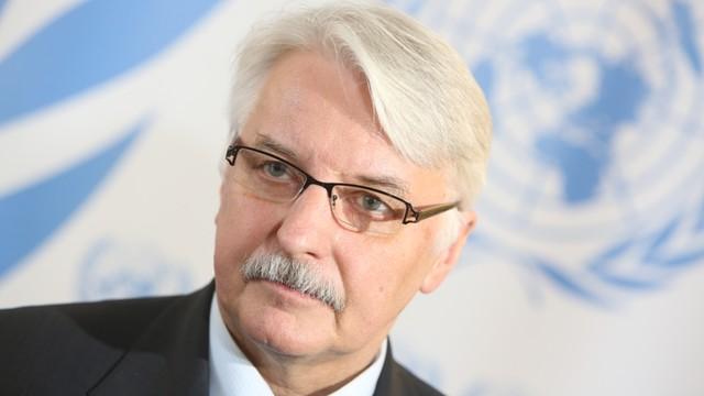 Waszczykowski: zrzekam się mandatu do Parlamentu Europejskiego