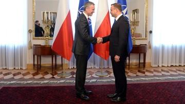 """31-05-2016 06:25 """"Nie ma powrotu do business as usual z Rosją"""". Soloch po spotkaniu ze Stoltenbergiem"""
