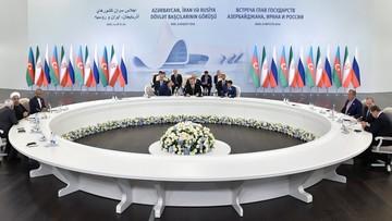 09-08-2016 07:01 Współpraca Rosji, Iranu i Azerbejdżanu. Prezydenci zamierzają odbywać regularne spotkania