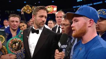 2017-09-17 Alvarez: Wygram rewanż tak jak pierwszą walkę! Gołowkin: To okropne dla boksu