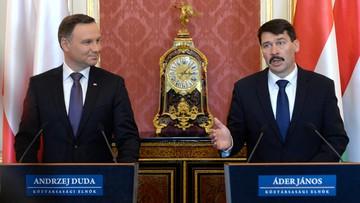 18-03-2016 16:20 Duda i Ader o zniesieniu sankcji wobec Rosji: najpierw realizacja porozumień mińskich