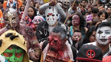 """Tysiące """"zombie"""" przeszło ulicami Meksyku"""