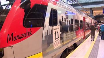 Łódź: pociąg