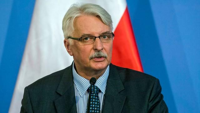 Waszczykowski po spotkaniu z ambasadorem Rosji: Jedynie złożył życzenia noworoczne