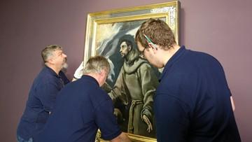 2016-11-25 Obraz El Greco większy niż dotąd myśleliśmy. Wyniki badań konserwatorskich zaskoczą wiele osób