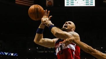 2015-11-01 NBA: Gortat nie zachwycił. Wizards ulegli Knicks