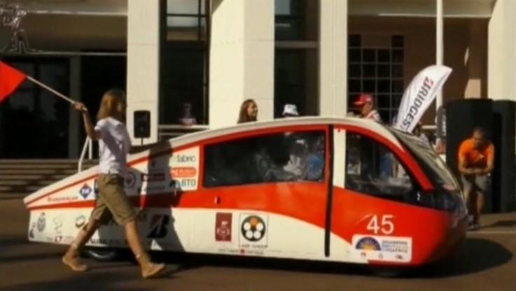 Łódzcy studenci wystartowali w prestiżowym wyścigu aut solarnych World Solar Challenge w Australii