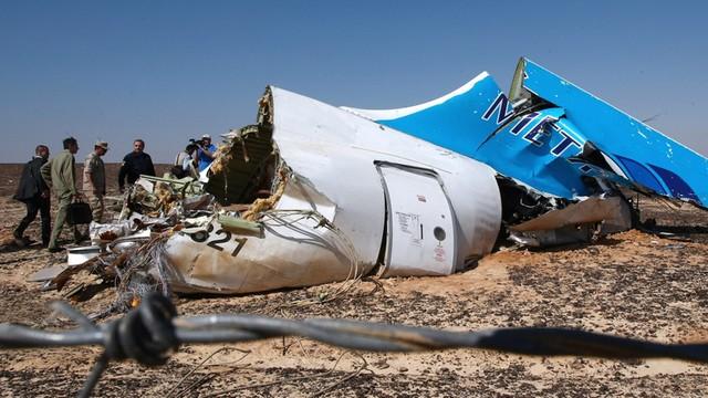 Egipt. Śledczy: hałas w ostatniej sekundzie nagrania z Airbusa A321