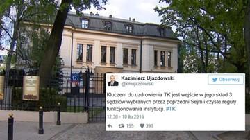 10-07-2016 21:59 Zaskakujące słowa byłego wiceprzewodniczącego PiS. Wraca do pomysłu kompromisu ws. TK
