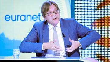 08-09-2016 16:37 Guy Verhofstadt negocjatorem PE ws. Brexitu