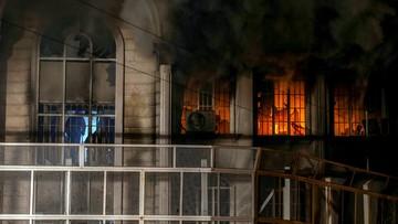 03-01-2016 14:45 Prezydent Iranu ukarze demonstrantów za podpalenie ambasady saudyjskiej