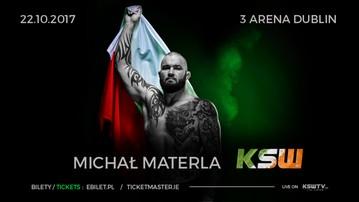 2017-09-20 KSW 40: Materla wystąpi w Dublinie!