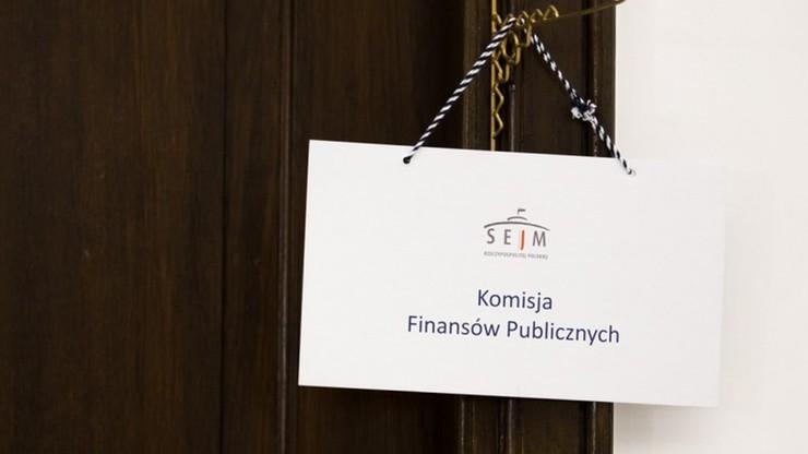 Komisja finansów za konsolidacją administracji skarbowej