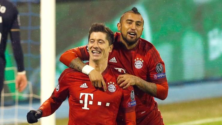 LM: dwie bramki Lewandowskiego i trzy punkty Bayernu