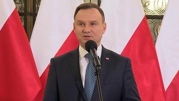 """19-02-2017 19:24 """"Ujmowała wdziękiem, radością"""". Prezydent wspomina Szaflarską"""