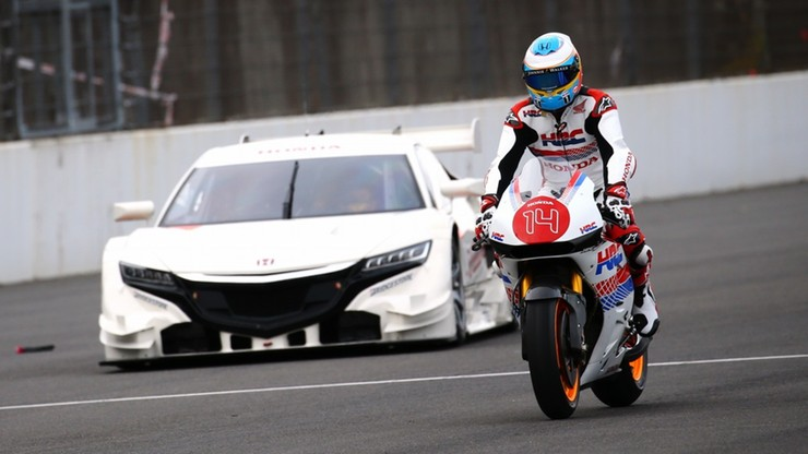 Fernando Alonso jeździł... Hondą Marqueza