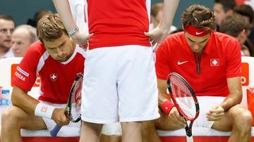 2015-09-19 Puchar Davisa: Holandia lepsza od Szwajcarii z Federerem w składzie