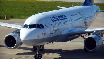 27-03-2017 17:09 Samolot Lufthansy musiał lądować w Jasionce. Problemy z podwoziem