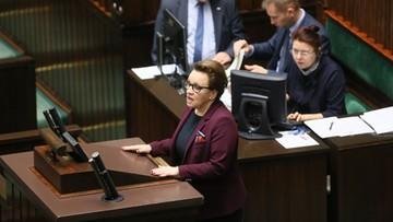30-11-2016 11:31 Sejm nie zgodził się na odrzucenie projektów likwidujących gimnazja
