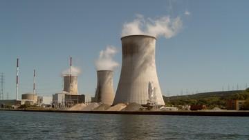 Ewakuacja elektrowni atomowej Tihange w Belgii