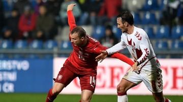 2016-11-15 Czechy zremisowały z Danią w meczu bez historii