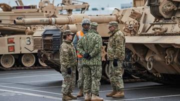 13-01-2017 17:38 NATO: amerykańskie czołgi w Europie są odpowiedzią na działania Rosji
