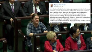 Apel o usunięcie Krystyny Pawłowicz z Facebooka. Za wpis na temat samobójstwa 14-latka