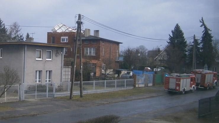 Zerwany dach w Kaliszu