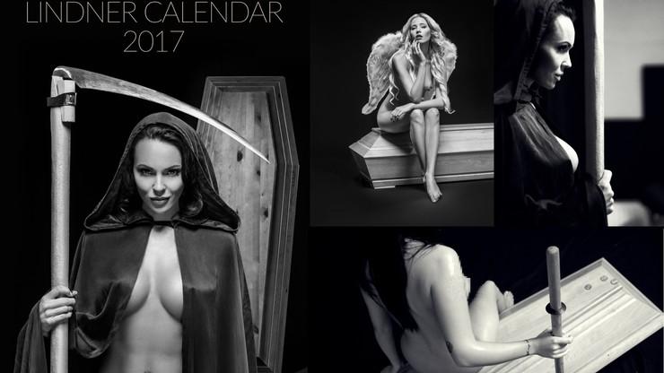 Śmierć i dziewczyna na kalendarzu. 12 modeli trumien, na każdy miesiąc inna
