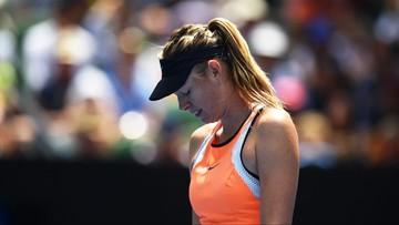 07-03-2016 21:24 Maria Szarapowa przyłapana na dopingu