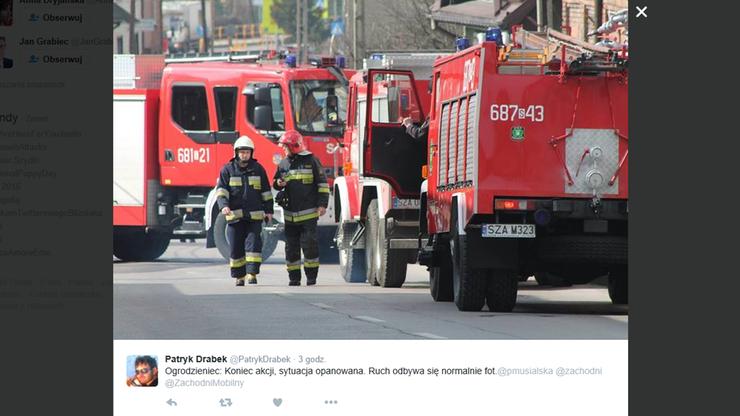 Ogrodzieniec: uszkodzony gazociąg. 365 osób ewakuowanych
