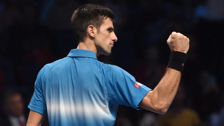 Djokovic rozniósł Nishikoriego na początek World Tour Finals