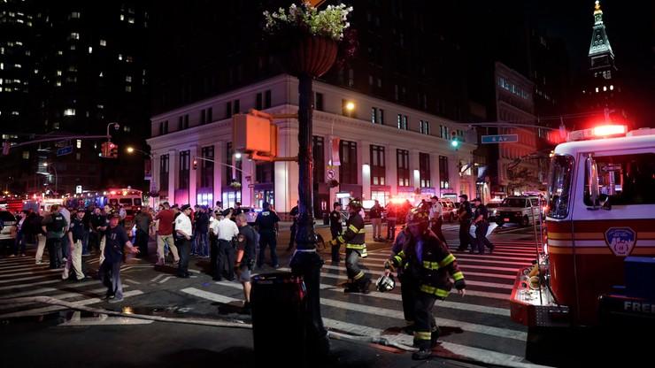 Silna eksplozja na Manhattanie. Są ranni. Burmistrz: to celowe działanie