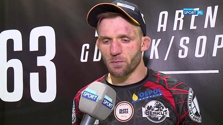 Zieliński: Przespałem pierwszą rundę