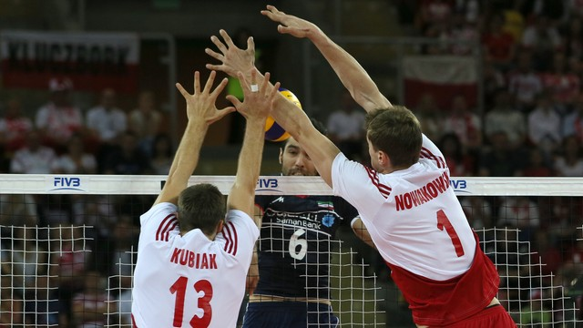 LŚ siatkarzy - Iran - Polska 3:2