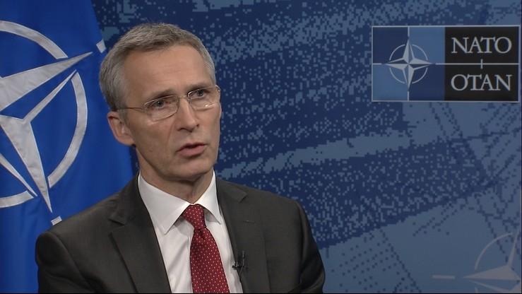 Sekretarz generalny NATO: siły rotacyjne w Polsce są równie dobre, co stałe bazy