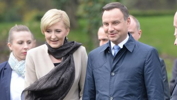 """16-04-2016 13:17 """"Czasem zbyt się rozwodzę..."""". Andrzej Duda odpowiada na pytanie o rozwód"""