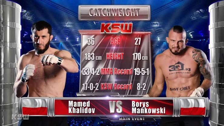 2017-05-28 Mamed Khalidov - Borys Mańkowski. Skrót walki