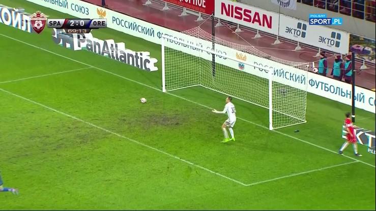 Kapitalny gol byłego gracza Wisły Kraków przeciwko Spartakowi Moskwa!