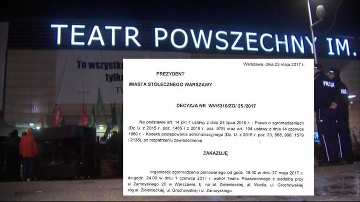 """Hanna Gronkiewicz-Waltz wydała zakaz demonstracji narodowców przeciwko """"Klątwie"""""""