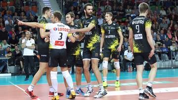 2015-12-06 Plusliga: Lotos Trefl Gdańsk - Cuprum Lubin. Transmisja w Polsacie Sport