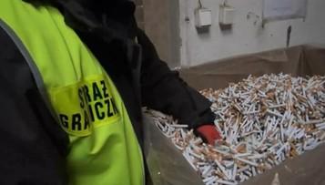 23-06-2016 12:30 Straż graniczna zlikwidowała nielegalną fabrykę papierosów. Towar za ponad 2 mln zł