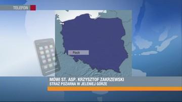 Pożar mieszkania w Piechowicach. Troje dzieci zginęło