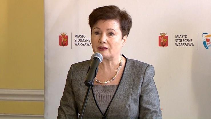 Gronkiewicz-Waltz ukarana po raz szósty. 3 tys. zł grzywny za niestawienie się przed komisją weryfikacyjną